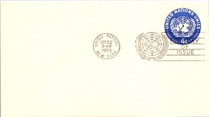 United States, New York, Postal Stationary, Worldwide First Day Cover