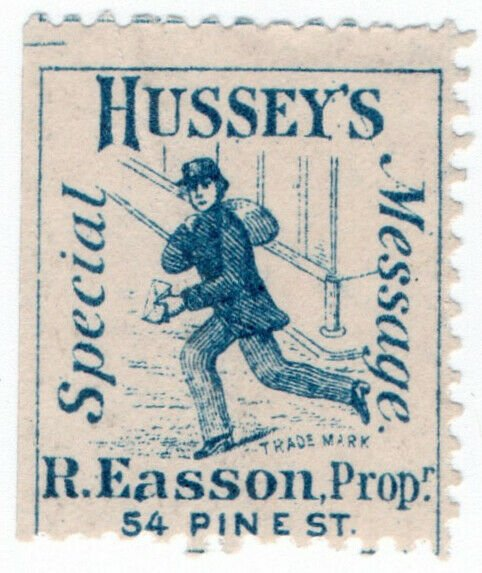 (I.B) US Local Post : Hussey's Special Message (Pine St)