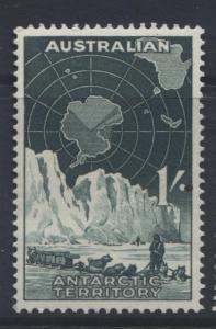 Australian Ant.Terr.- Scott L3- Shackleton Exped. -1957-59 - MVLH- 1/- Dk Green1