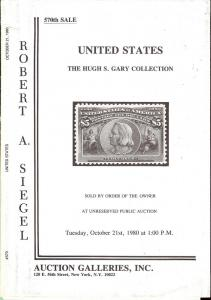 United States: The Hugh S. Gary Collection, Robert A. Sie...
