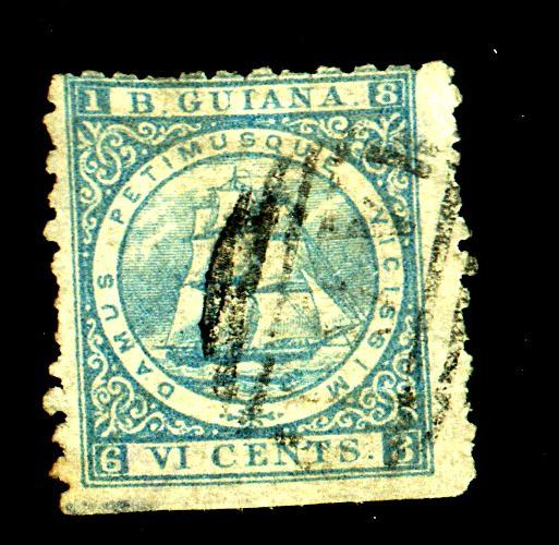 British Guiana #67 Used Fine Cat$40