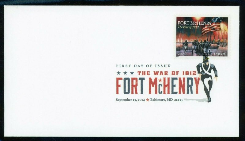 Scott 4921 Fort McHenry Digital Color Pictorial Cancel First Day Cover