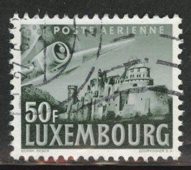 Luxembourg Scott C15 Used airmail