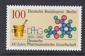 Germany  Berlin  #9N591  MNH 1990  Pharmaceutical society