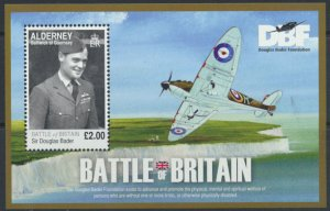 Alderney Douglas Bader MS 2019 Battle of Britain MNH   see detail and scan