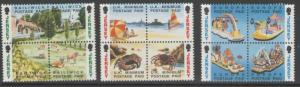 JERSEY SG601/12 1993 BOOKLET STAMPS MNH