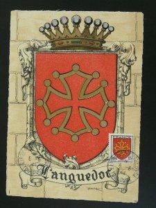 heraldry coat of arm maximum card 1944