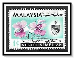 Negri Sembilan #76 State Crest & Orchids Used