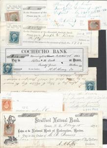 Scott R5a, 7a, 25a, Revenue Usages of Documents