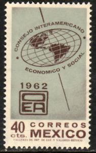 MEXICO 926, Interamerican. Economic & Soc Council Mint, NH. VF