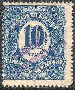 MEXICO-Monterrey 438VAR TII 10¢ GOB. REV PROV OVPT CONSTIT.. UNUSED VF (1265)