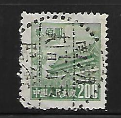 PEOPLE'S REPUBLIC OF CHINA, 86, USED, SRCHD, GATE OF HEAVENLY PEACE