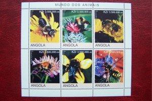 Angola 2000 MNH Bees