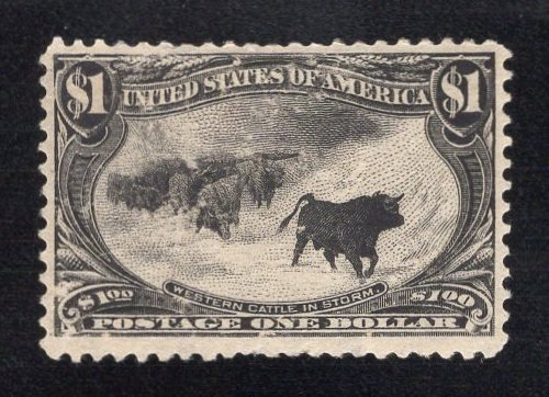 US Stamp Scott #292 Mint Previously Hinged SCV $1500. Accepting Offers