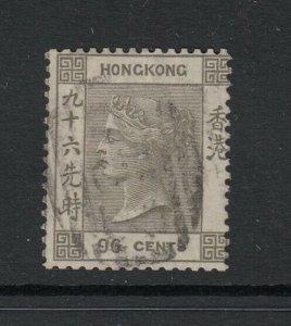 Hong Kong Sc 24 (SG 19), used