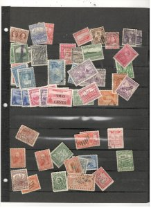 NEWFOUNDLAND COLLECTION ON STOCK SHEET