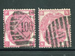 Great Britain #49  Plate 6  used two shades