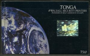 TONGA & WALLSALL SECURITY  PRINTERS COMPLETE PRESTIGE BOOKLET