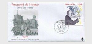 H01 Monaco 150th Anniversary of the Birth of Henri Matisse  FDC