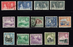 CYPRUS STAMP USED STAMPS COLLECTION LOT