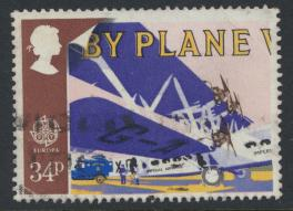 Great Britain SG 1395 -  Used - Europa Transport & Mail