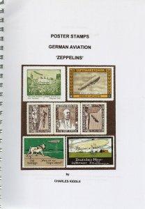 (I.B-CK) Cinderella Catalogue : Poster Stamps : German Aviation (Zeppelins)