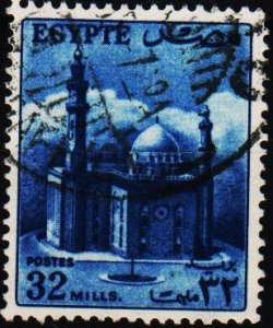 Egypt. 1953 32m S.G.424 Fine Used