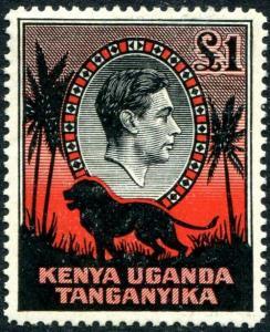 HERRICKSTAMP KENYA, UGANDA, TANGANYIKA Sc.# 85 Mint LH Scott Retail $25.00