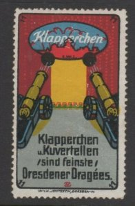 Germany- Dresden Dragees Advertising Stamp - NG
