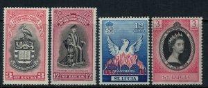 St. Lucia #149-51,6*  CV $2.60