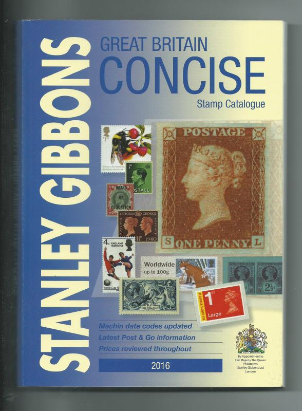 2016 Stanley Gibbons Concise Stamp Catalogue