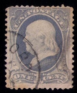 US SCOTT #145 USED F-VF