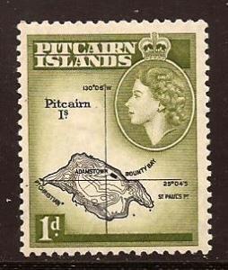 Pitcairn  Islands  #  21  Mint