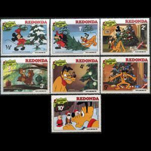 REDONDA 1981 - Disney 1/2-10c NH