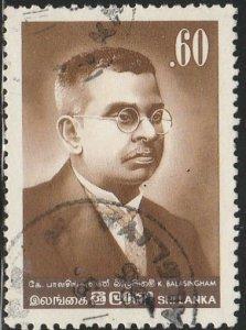 Sri Lanka,#713 Used, From 1984