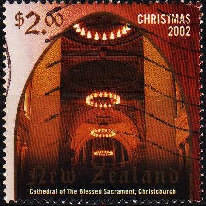 New Zealand. 2002 $2 S.G.2529  Fine Used