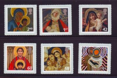 Great Britain Sc 2328-33 2005 Christmas stamp set mint  NH