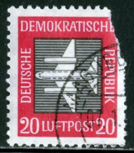 GERMANY DDR #C2, USED - 1957 - DDR015