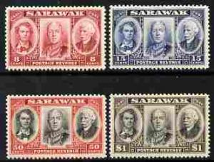 Sarawak 1946 Centenary issue perf set of 4 mounted mint S...