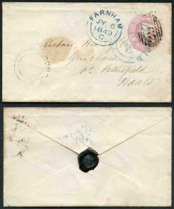 Penny Pink with CRONDALL Undated Circle