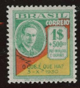 Brazil Scott 352 MH* from 1931 Revolution set