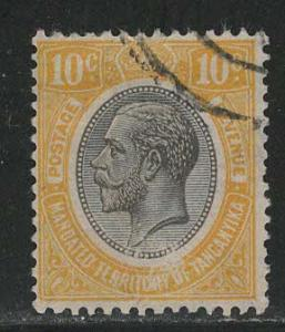 Mandated Territory of Tanganyika Scott # 30, used