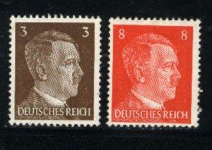 Germany #507,511   Mint VF 1941-44 PD