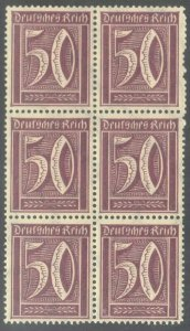 GERMANY  SC# 143 **MNH**  1921   50pf  NUMERALS   SEE SCAN
