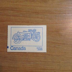 Canada BK71d   Counting mark complete booklet