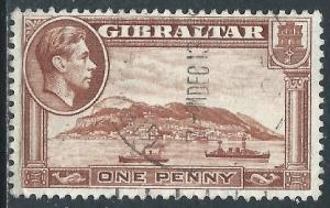 Gibraltar, Sc #108, 1d Used
