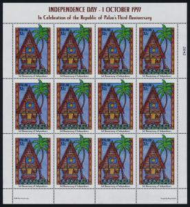 Palau 435 MNH Independence Day, Architecture