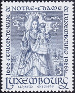 Luxembourg # 438 mnh ~ 3fr Our Lady of Luxembourg