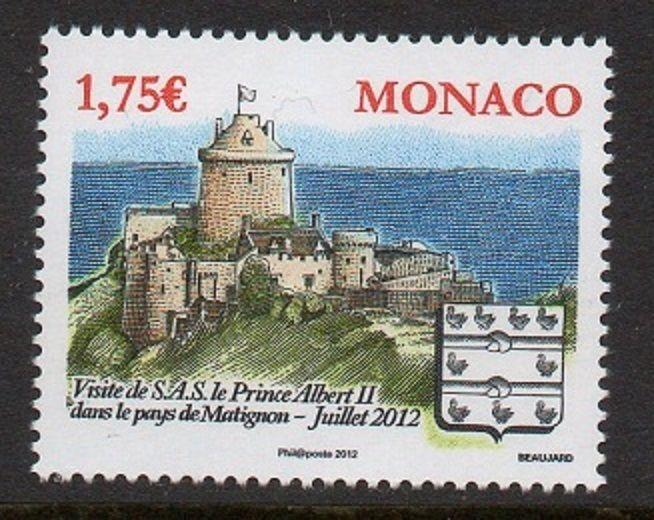 Monaco 2012 Fort-la-Laffe France VF MNH (2682)