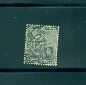 Bechuanaland - Sc# 29. 1889 1/2p. Used. $40.00.